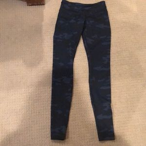 Blue army lululemon pants